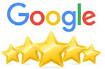 electrician 5 star rating google