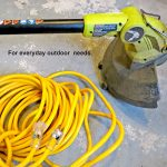 outdoor extension cord for yardwork