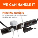power strip pivoting outlets