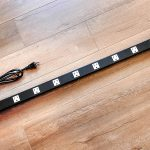 Metal Surge Protector Power Strip 4 Feet 12 Outlet