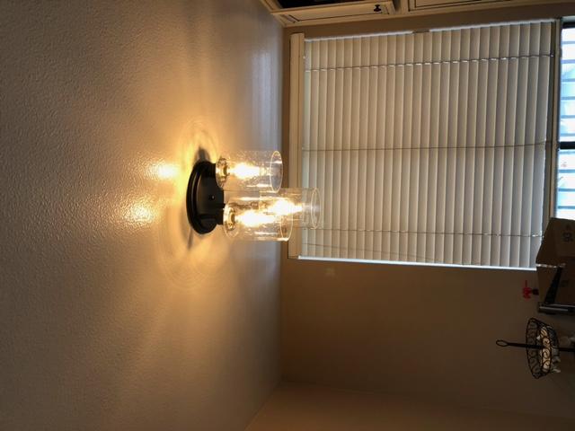 Install light fixture