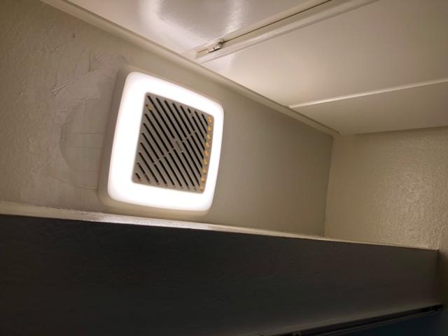 Replace bath fan